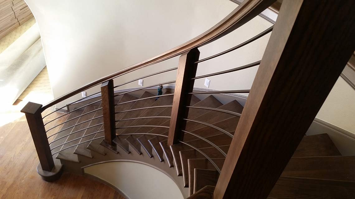 Custom Glass, Metal, And Wood Staircases   The Stair Guyz   Idahou0027s Best